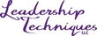 Leadership Techniques, LLC Principals Selected as Instructors for Prestigious International Seminar Series