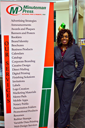 Juanita Glenn, Minuteman Press franchise owner, Upper Marlboro, MD - learn more about Minuteman Press franchise opportunities at http://www.minutemanpressfranchise.com