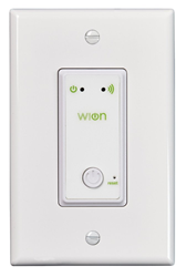 Woods' Indoor Wi-Fi In-Wall Light Switch Wireless Switch Programmable Timer