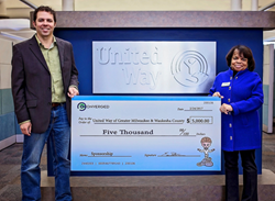 CT-Pros Makes Donation to United Way to Encourage IT Education