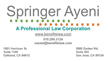 Springer Ayeni, A Professional Law Corporation, with offices in Oakland and San Jose, CA