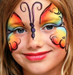 Face painting is popular with children and the young at heart at Victory of Light.