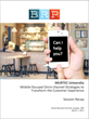 Restaurant Mobile Capabilities are Imperative – Not Optional