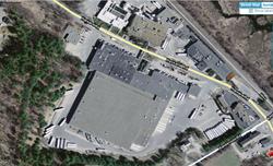 The Sunny Delight juice factory and bottling plant in Littleton, Massachusetts.