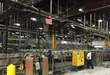 The bottling line at the Sunny Delight plant
