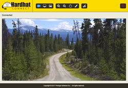 Logging Road on Hardhat Connect
