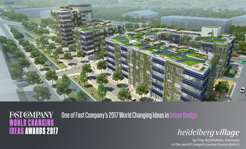 frey architekten s heidelberg village named finalist in. Black Bedroom Furniture Sets. Home Design Ideas
