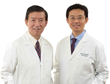 Founders of Dr Wang Skincare - Steven Wang, MD (right) & Gui Wang, LAc