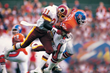 former Washington Redskin Clarence Vaughn in Super Bowl XXII