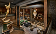 The iconic lobby inside Arbor Lodging's new Hotel Phillips Kansas City, Curio Collection by Hilton.