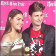 "Voxx is interviewed on the Red Carpet at a ""Valentine's Rocks"" Concert Hosted By Brooke Butler with performances by Johnny Orlando, and Carson Lueders."