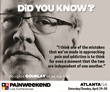 A Weekend of Pain Management CE/CME: Atlanta PAINWeekEnd Conference April 29 and 30