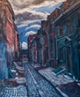 Elfreth's Alley by Edward L. Loper