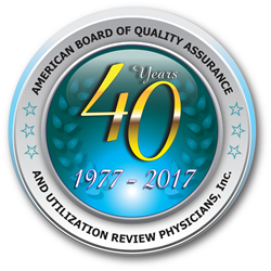 ABQAURP - 40 Years in Health Care Quality Certification and Education