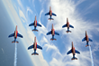 French Air Force Patrouille de France Jet Demonstration Team To Perform Flyovers of New York City, Washington, D.C.