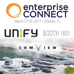 Comview in Unify's Booth 1601 @ Enterprise Connect 2017