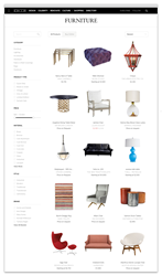 Dering Hall's 30,000 home furnishings product catalog will now be available to readers on ElleDecor.com