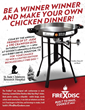 Chance to win a limited edition Reckless Kelly and FireDisc® co-branded Portable Cooker