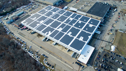 Borrego Solar solar array for UMass Boston
