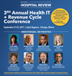 Becker's Healthcare to Host Their 3rd Annual Health IT and Revenue Cycle Conference with Over 255 Total Speakers on September 21 - 23, 2017 in Chicago, Illinois