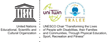 UNESCO & Institute of Technology Tralee Logo and base of operation for UNESCO Chair Catherine Carty