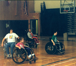 19th Annual Wheelchair Basketball Tournament at Husson University