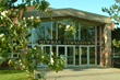 Exterior of Newman Gymnasium