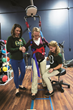 Husson University physical therapy students at Dragonfly Physical Therapy in Bangor, Maine.