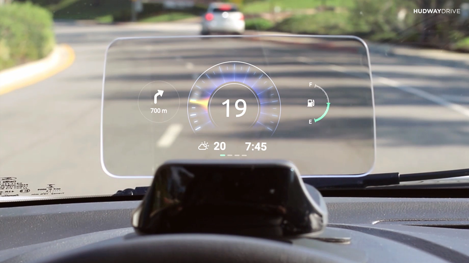 Hudway Drive Hudway Joins The Aftermarket Head Up Display Market Competition