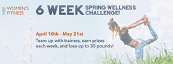 Northwest Women's Fitness Club 6-Week Spring Wellness Challenge