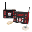 The Clarity AlertMaster® AL10™ Notification System notifies you to the door and phone/VP calls in up to two rooms. It also functions as an alarm clock through a bed shaker and plugged in lamp.
