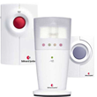 The Bellman & Symfon Visit Alerting with Flash Receiver for Phone and Doorbell allows you to be alerted by clear flashing lights and light indicator.