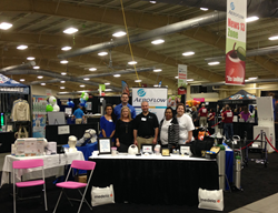 Aeroflow team at the LiveWell expo