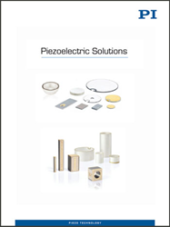 PI's New Piezoelectric Solutions catalog