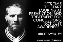 Brett Favre Brock USA