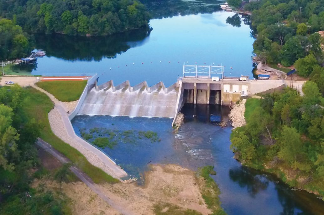 Lake Delhi Dam Wins National Engineering Award