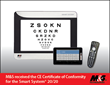M&S Technologies, Inc. Obtains CE Certificate of Conformity to Further Strengthen its Commitment to the Vision Testing industry.