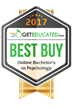 GetEducated.com Releases 2017 Best Buy Rankings of Regionally-Accredited Online Bachelor's in Psychology