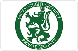 Green Knight Security President Steven ONeal Receives