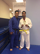 An Associate Of The Blind Judo Foundation Weighing One Pound At Birth Brings Home A Trophy For Second Place In Judo Competition
