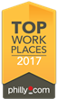 Philly.com Names Comm Solutions a Winner of the Delaware Valley 2017 Top Workplaces Award