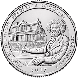 Frederick Douglass National Historic Site Quarter