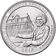 United States Mint to Launch Quarter Honoring Frederick Douglass National Historic Site on April 4