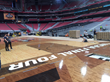 Connor Sports installs the Official Court for the 2017 NCAA Men's Final Four
