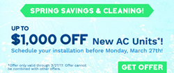 All Year Cooling Spring Sale Coupon