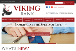 Viking Bank Home Page