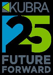 KUBRA 25 Year Anniversary Logo