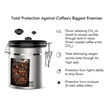 Culinary Prestige Announces New Barista-Approved Stainless Steel Coffee Canister.