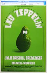 Led Zeppelin BG170 Concert Poster at Fillmore Auditorium