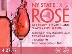 Rose wine fest, NYC wine tasting, rosé tasting, summer wine tasting, spring wine tasting, April wine tasting, wine tasting New York, New York Wine Events, NY State of Rose, tasting events, Thursday wine tasting.